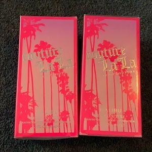 TWO Juicy Couture La La Malibu for Women.